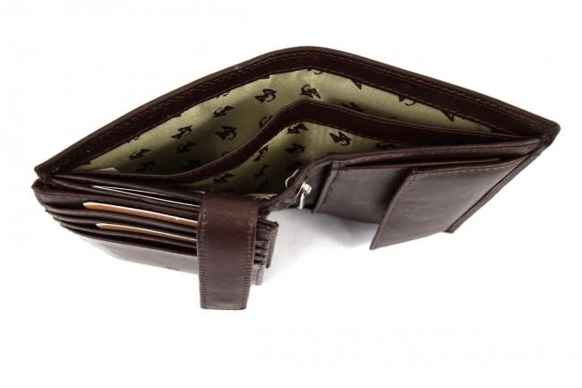 276b0c62e7 Portafoglio Sauvage RFID Marrone - SAW7005 Pelletteria accessori