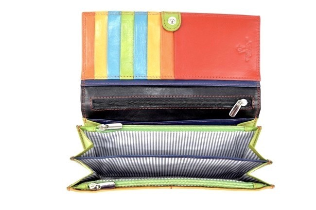 comprare on line a4a79 0df55 Portafoglio Donna Multicolore Nero - GW3096