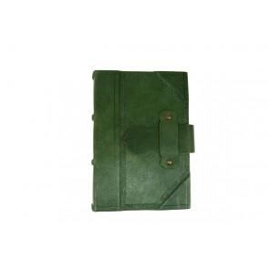 agenda verde in pelle made in italy