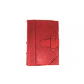 agenda rossa in pelle made in italy