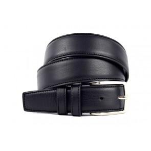 Cintura Classica Nera - BFT449 - 3,5 cm