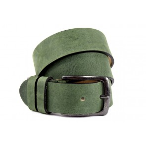 Cintura Sportiva Verde Militare - BFC440 - 4 cm