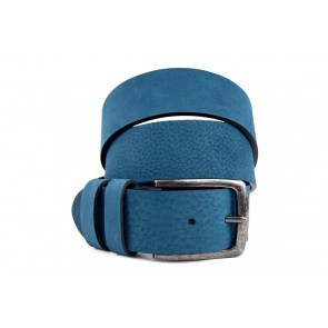 Cintura Sportiva Blu - BFC440 - 4 cm