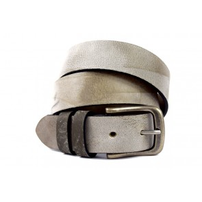 Cintura Grigia - BFF910 - 4 cm