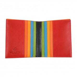 portafoglio piccolo multicolore nero