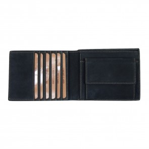 Portafoglio Nabuk Tribale Nero - TW0040