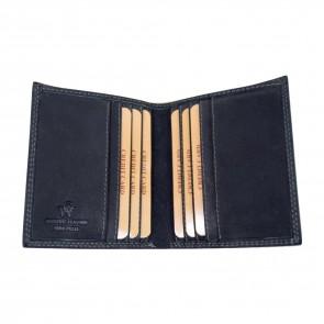 portafoglio medio unisex nero