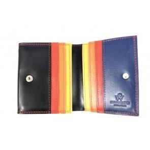 portafoglio con porta carte di credito nero
