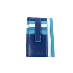 Portafoglio porta documenti blu